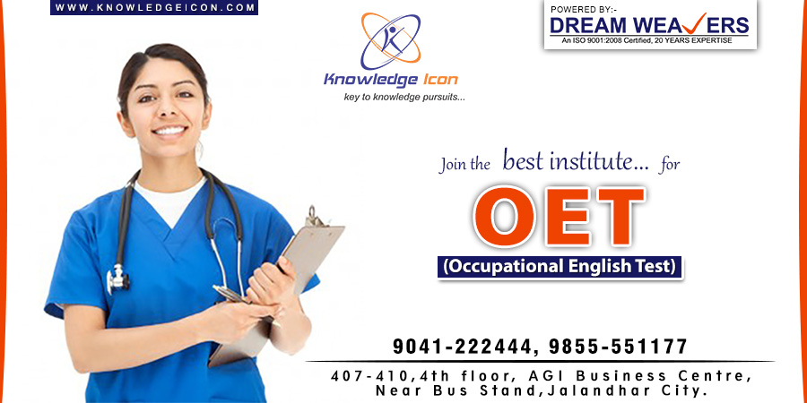 No 1 OET Coaching Centre in Jalandhar – Knowledge Icon