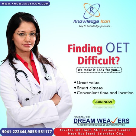 Top Coaching Institute for OET in Jalandhar – Knowledge Icon