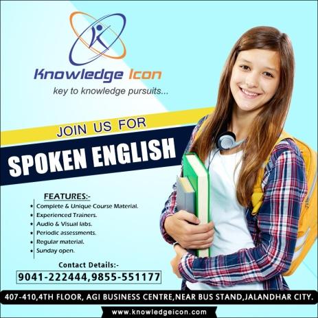 English Spoken Classes in Jalandhar – Knowledge Icon